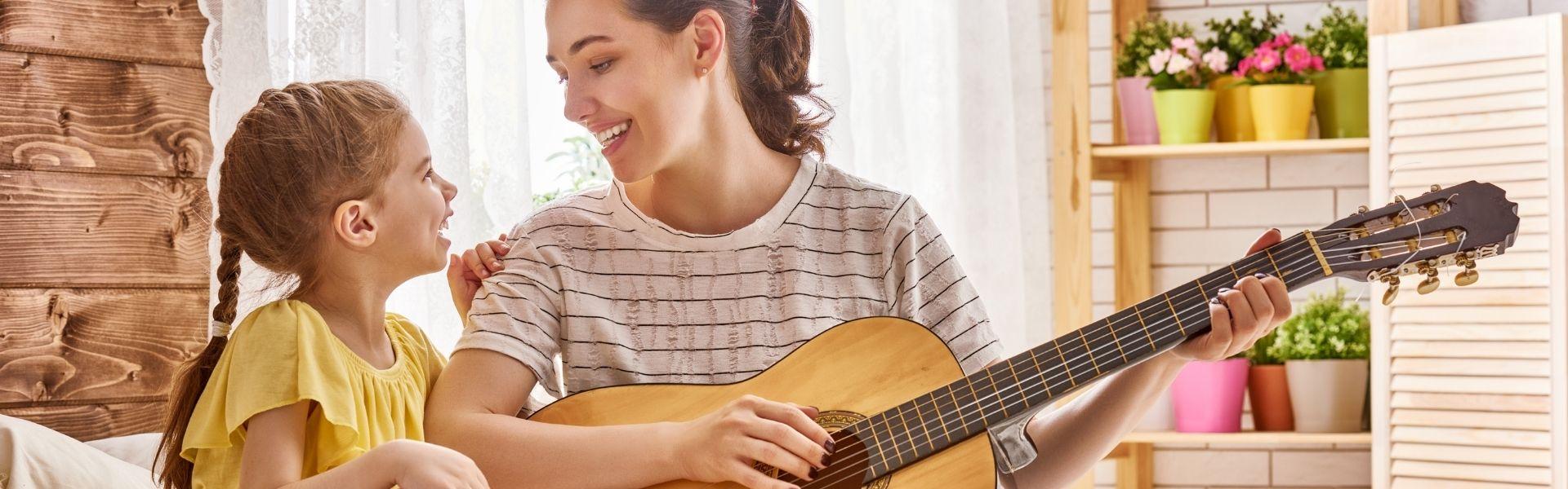 Gitarre, Kinderlieder